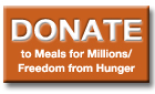 Freedom from Hunger Donation Page